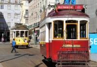 Lissabon: de beroemde ouderwetse trammetjes