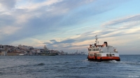 Lissabon vanaf de pont naar Calcilhas