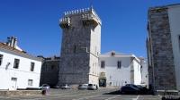 Estremoz: de kasteeltoren (nu onderdeel van een luxe hotel)