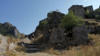 Verlaten stadje Borgo di San Severino