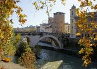 Rome-De-oever-van-de-Tiber